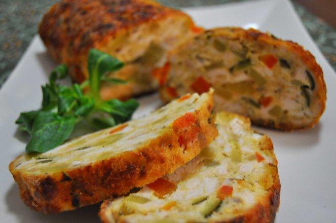 Polpettone pollo e verdure (12)