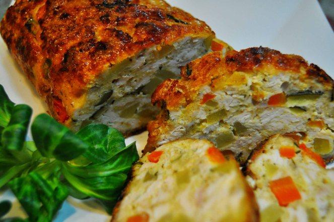 Polpettone pollo e verdure (5)