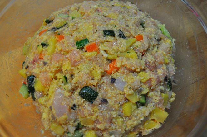 Polpettone pollo e verdure (7)