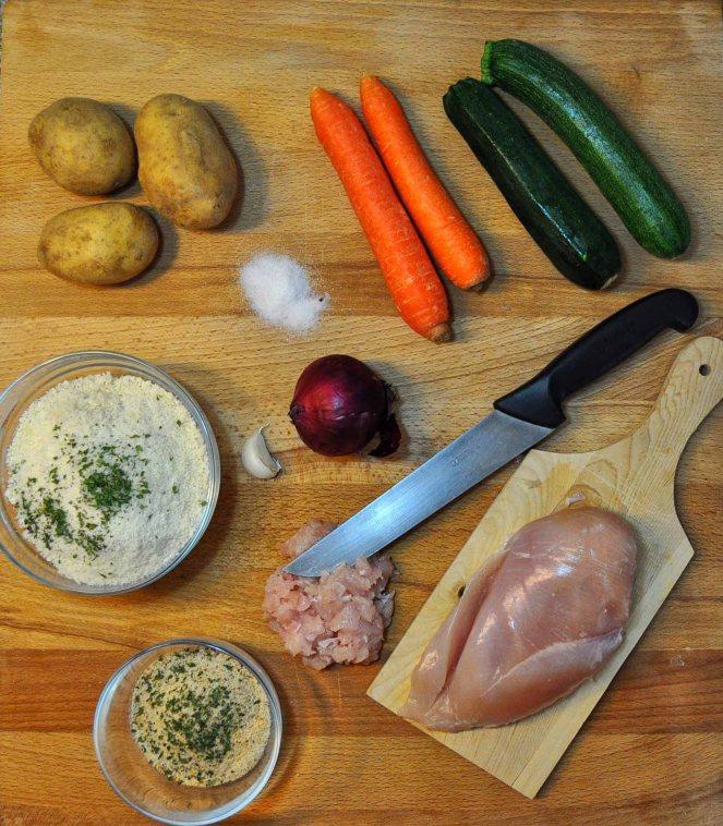 Polpettone pollo e verdure (9)