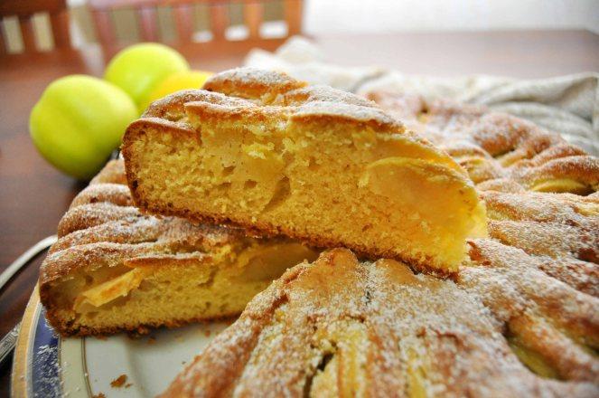 Torta di mele limone e cannella (1)