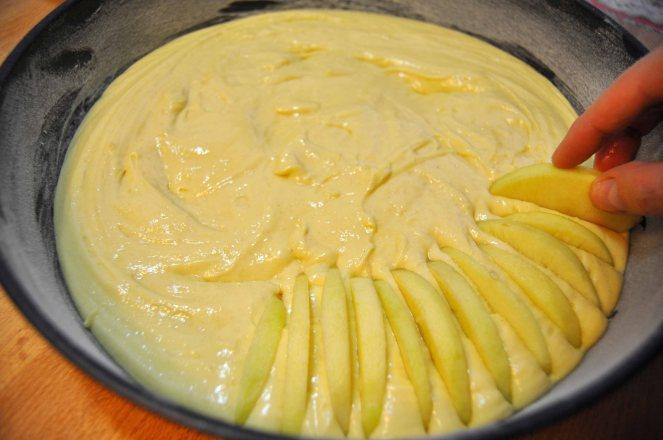 Torta di mele limone e cannella (10)