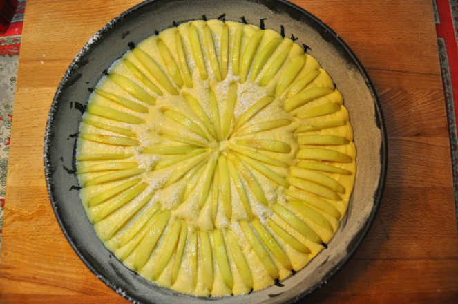 Torta di mele limone e cannella (11)