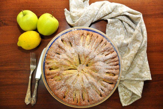 Torta di mele limone e cannella (12)