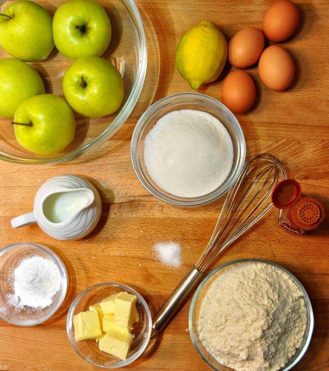 Torta di mele limone e cannella (2)