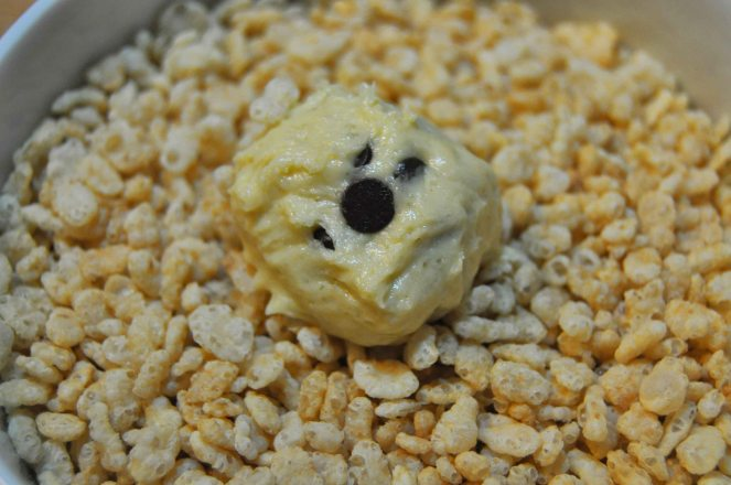 BISCOTTI cioccolato e riso soffiato (5)