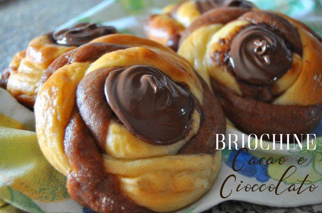 Briochine intrecciate al cacao e cioccolato nutella (14) test