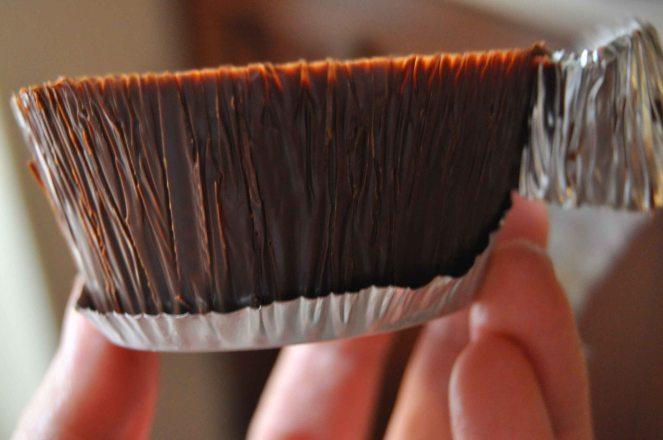 Cestini di cioccolato con lamponi e mirtilli (2)