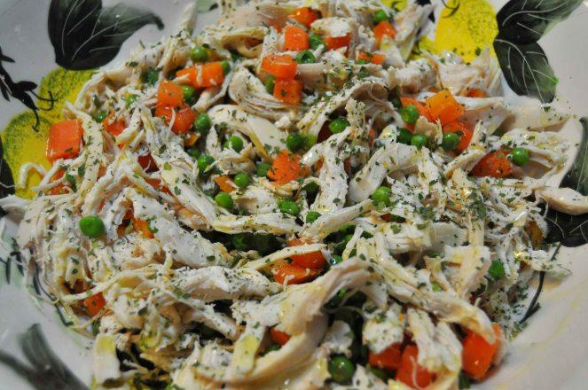 insalata di pollo verdure e limone (4)