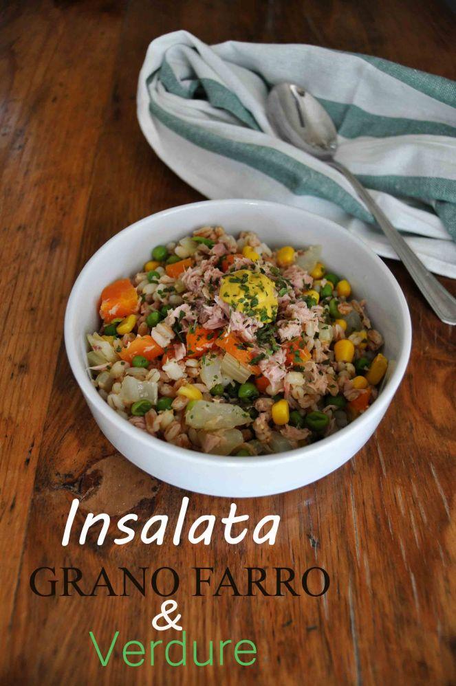 Insalata grano farro e verdure (2)