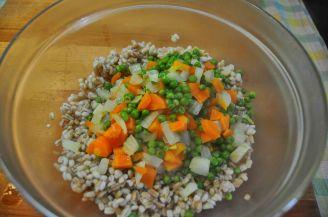 Insalata grano farro e verdure (3)
