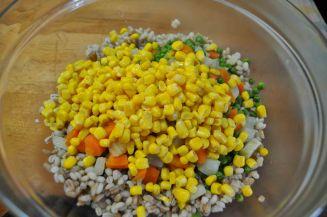 Insalata grano farro e verdure (4)