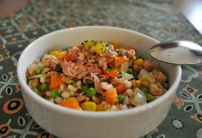 Insalata grano farro e verdure (5)