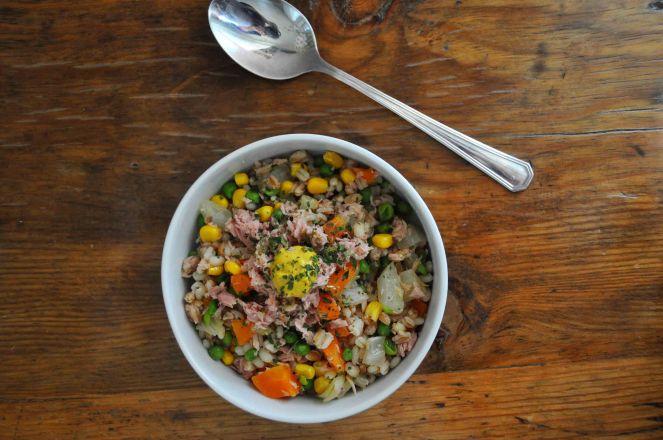 Insalata grano farro e verdure (6)