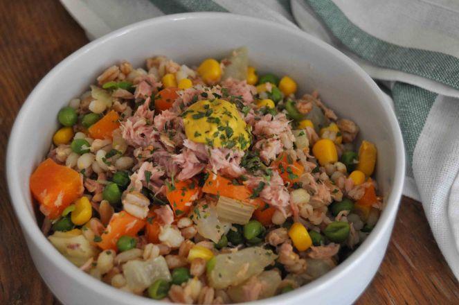 Insalata grano farro e verdure (7)