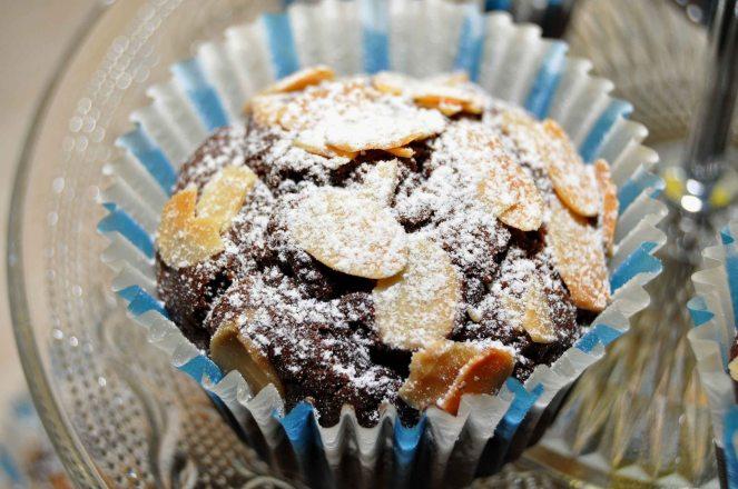 Muffin cioccolato e mandorle (10)
