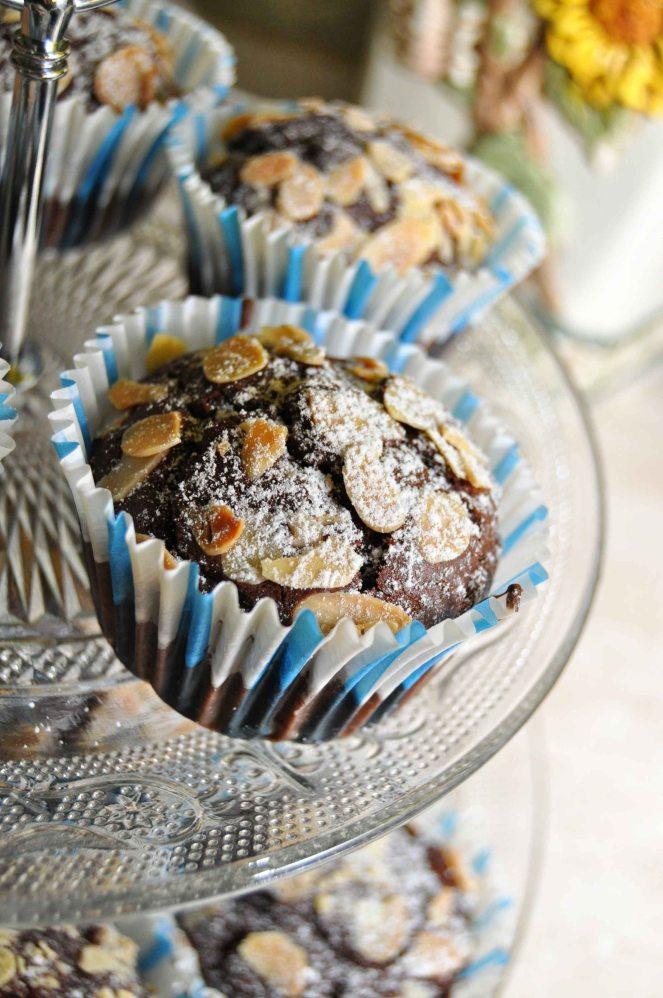 Muffin cioccolato e mandorle (11)