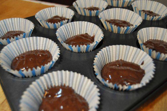 Muffin cioccolato e mandorle (5)