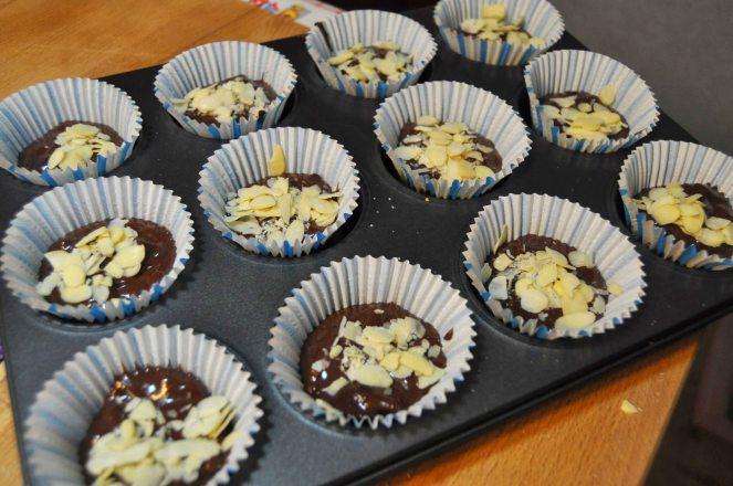 Muffin cioccolato e mandorle (6)
