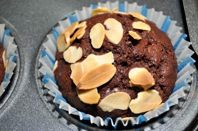 Muffin cioccolato e mandorle (8)