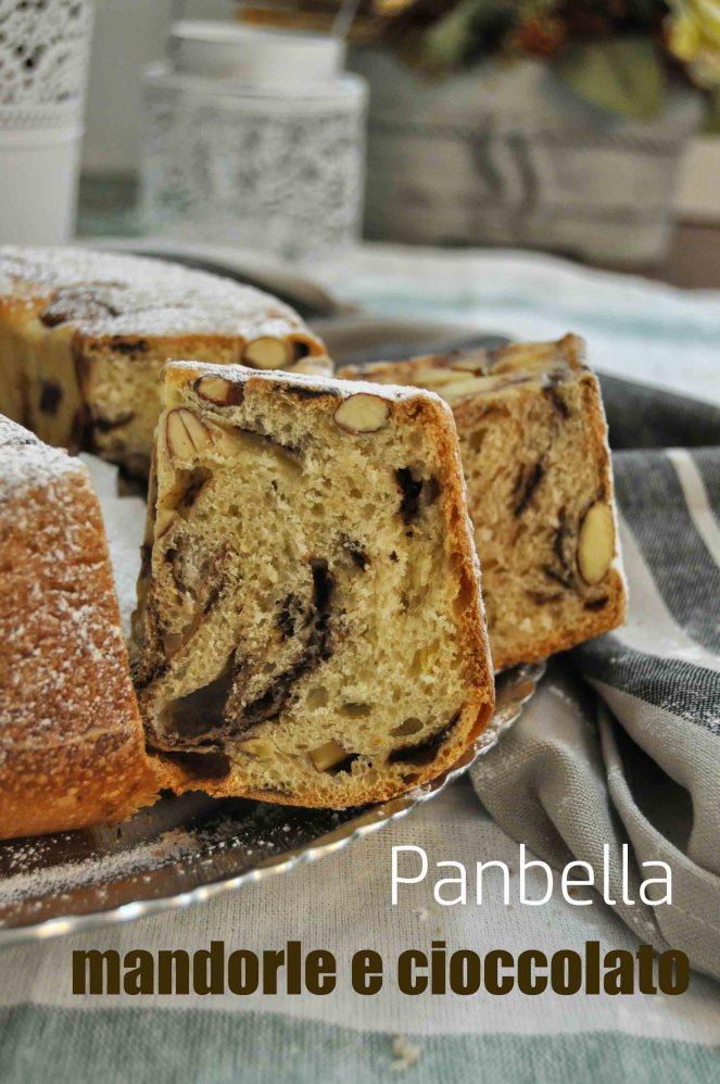 Panbella ciambella cioccolato e mandorle (13)test