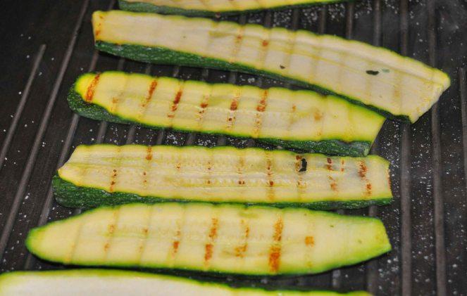Polpette di pollo e cavolfiore con zucchine (2)