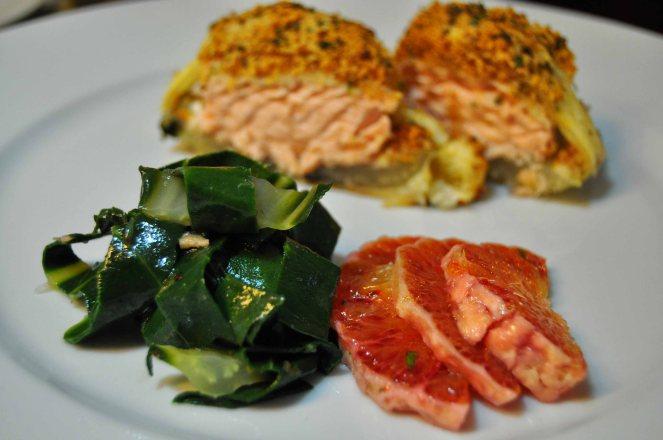 Salmone in crosta di mandorle  (22)
