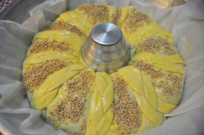 Corona brioches con verdure (15)