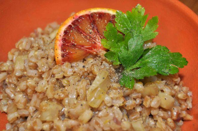 farro finocchio e arance rosse (3)