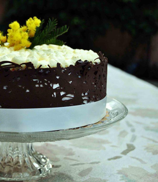 Torta mimosa e cioccolato (14)