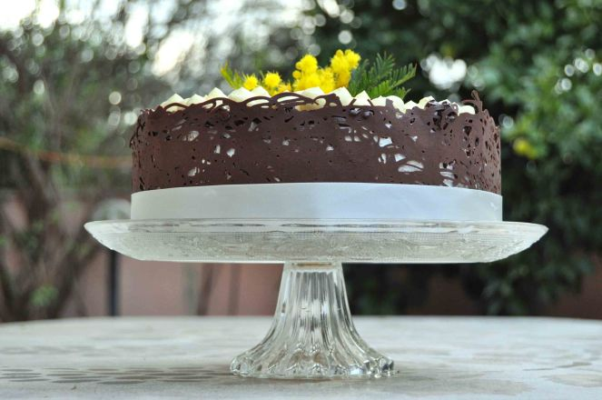 Torta mimosa e cioccolato (16)