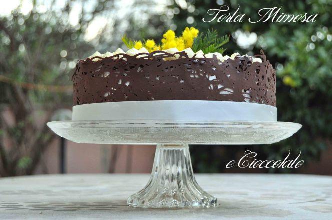 Torta mimosa e cioccolato (17)