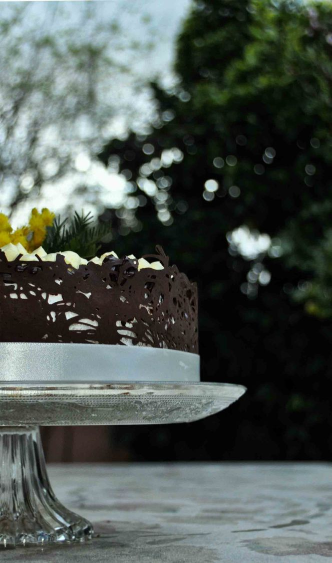 Torta mimosa e cioccolato (18)
