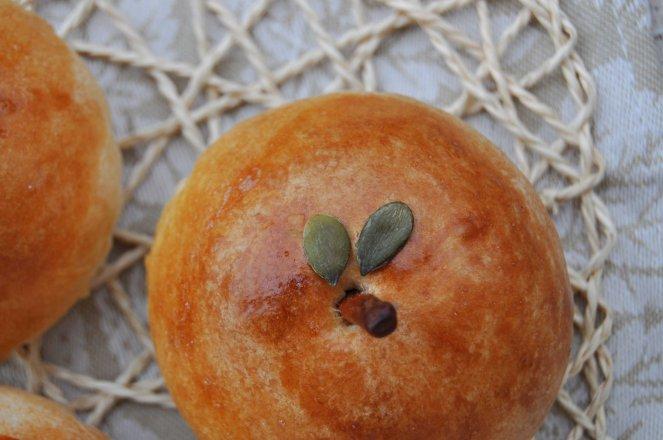 brioche di mele a forma di mela (16)