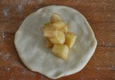 brioche di mele a forma di mela (2)