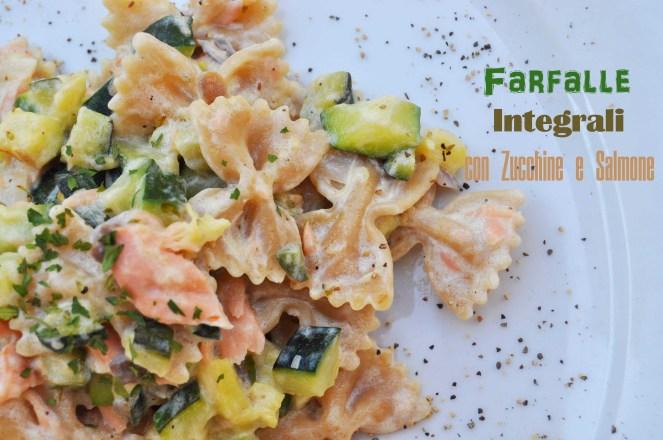 Farfalle integrali con zucchine e salmone (7)