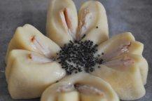 Fior di focaccia, focaccine a forma di fiore (8)