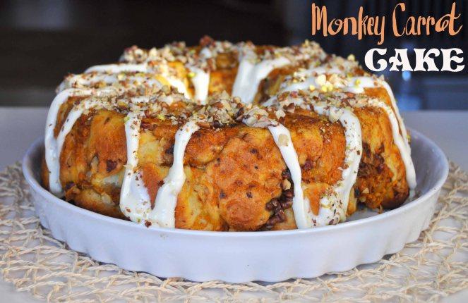 monkey carrot cake, torta alle carote americana (16)