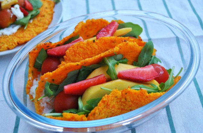 carrot taco, piadina di carote (10)