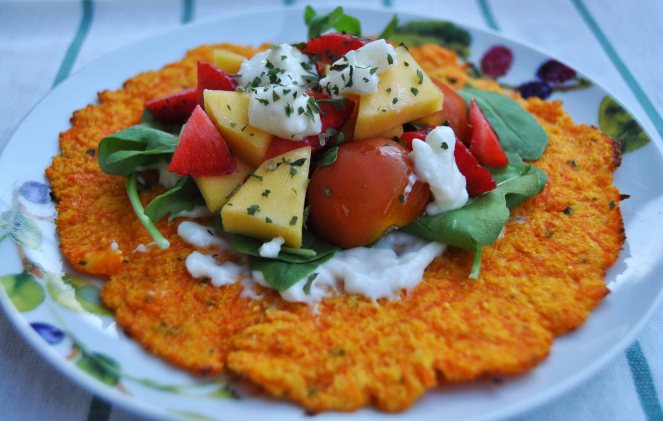 carrot taco, piadina di carote (11)