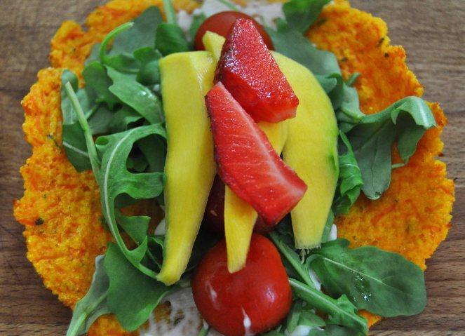 carrot taco, piadina di carote (7)