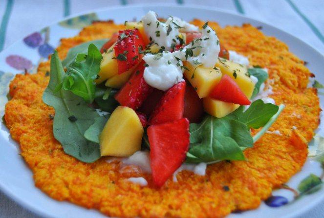 carrot taco, piadina di carote (8)