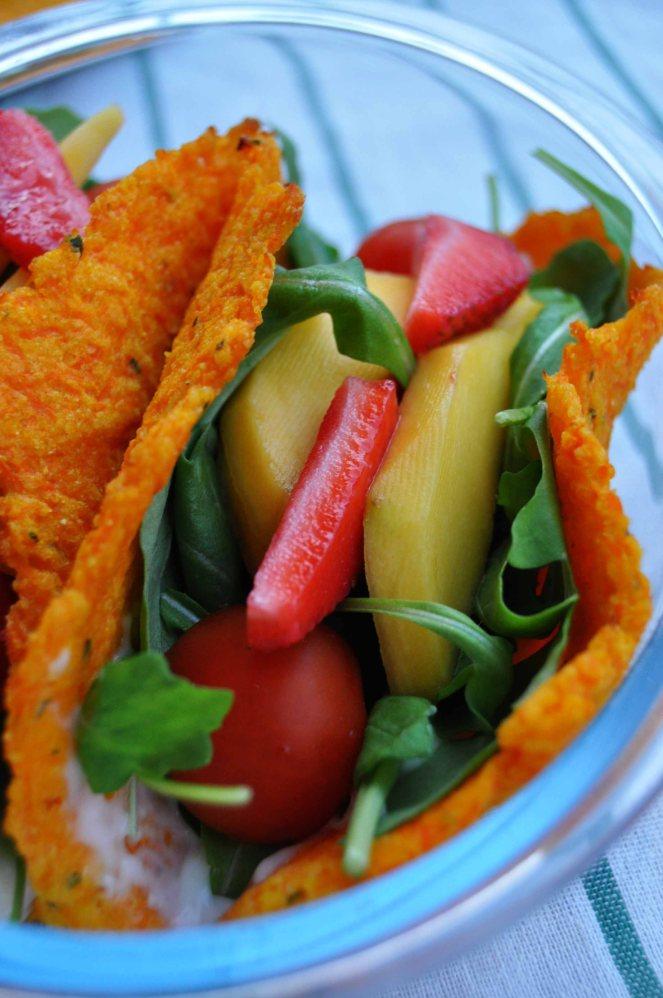 carrot taco, piadina di carote (9)
