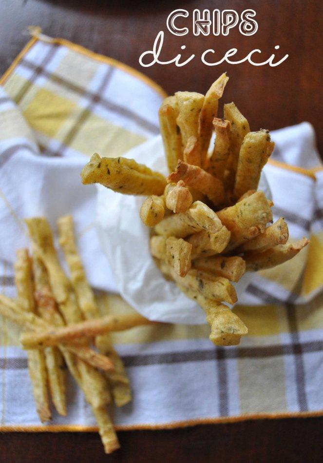 Chips patatine con farina di ceci (10)