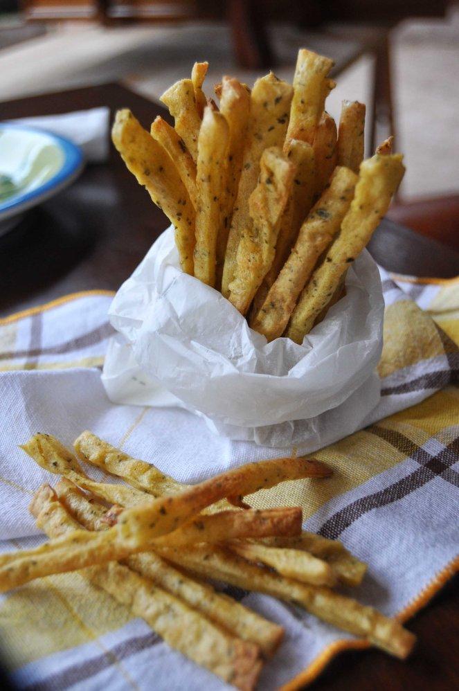 Chips patatine con farina di ceci (12)