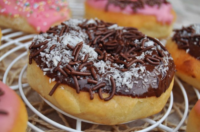 donuts Doughnuts ciambelle americane (4)