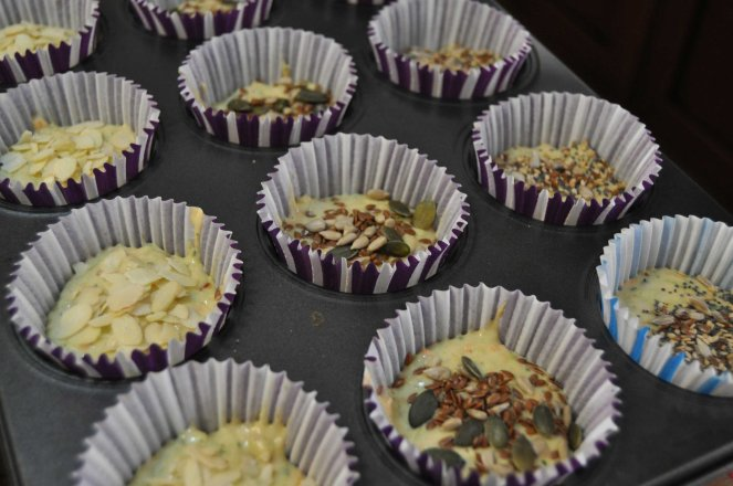muffin salati zucchine e mandorle (2)