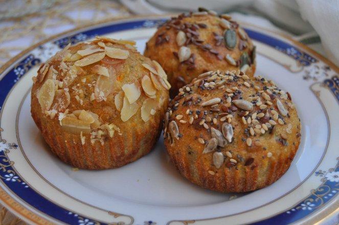 muffin salati zucchine e mandorle (4)
