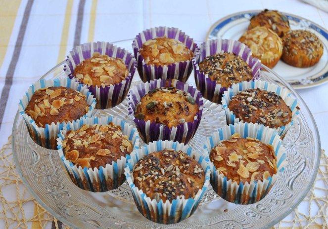 muffin salati zucchine e mandorle (6)