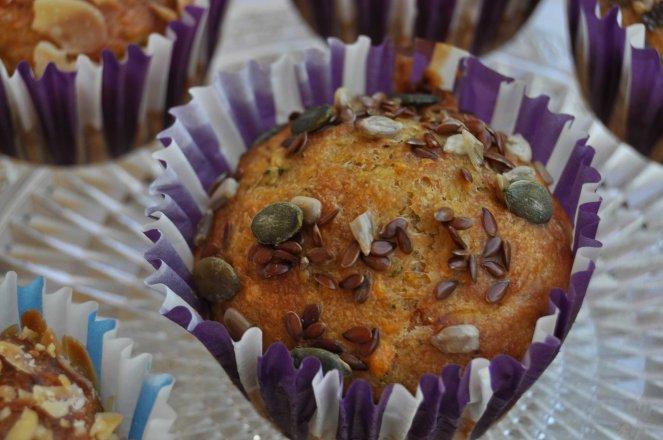 muffin salati zucchine e mandorle (7)